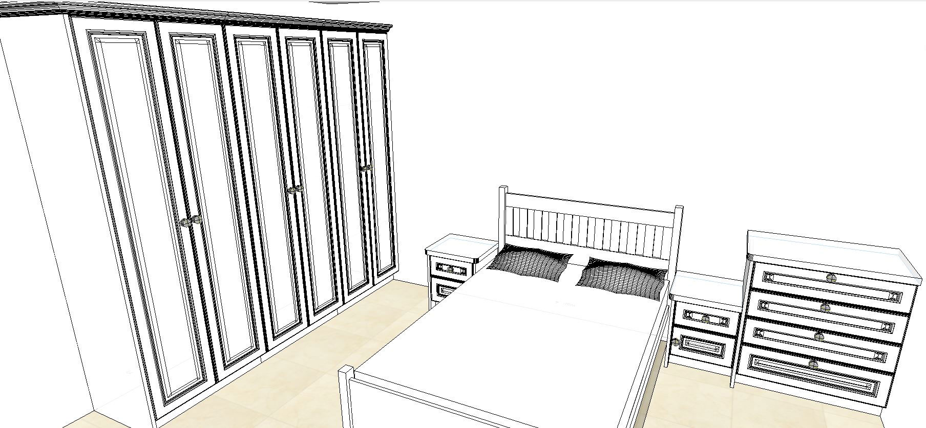 Fitted bedroom example