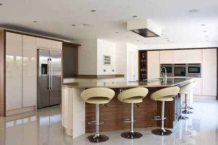 Parapan High Gloss Bespoke Fitted Kitchen