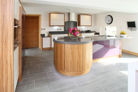 Zabrano Veneer Bespoke Fitted Kitchen
