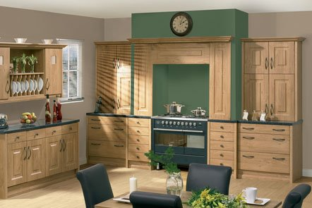 Pippy Oak Oxford Bespoke Fitted Kitchens