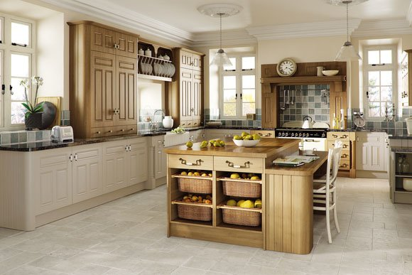 Odessa Oak Broadway Bespoke Fitted Kitchens