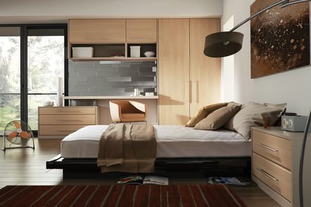 Lincoln Canadian Maple Bespoke Fitted Bedrooms