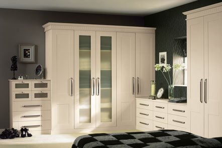 Warwick Ivory Bespoke Fitted Bedrooms