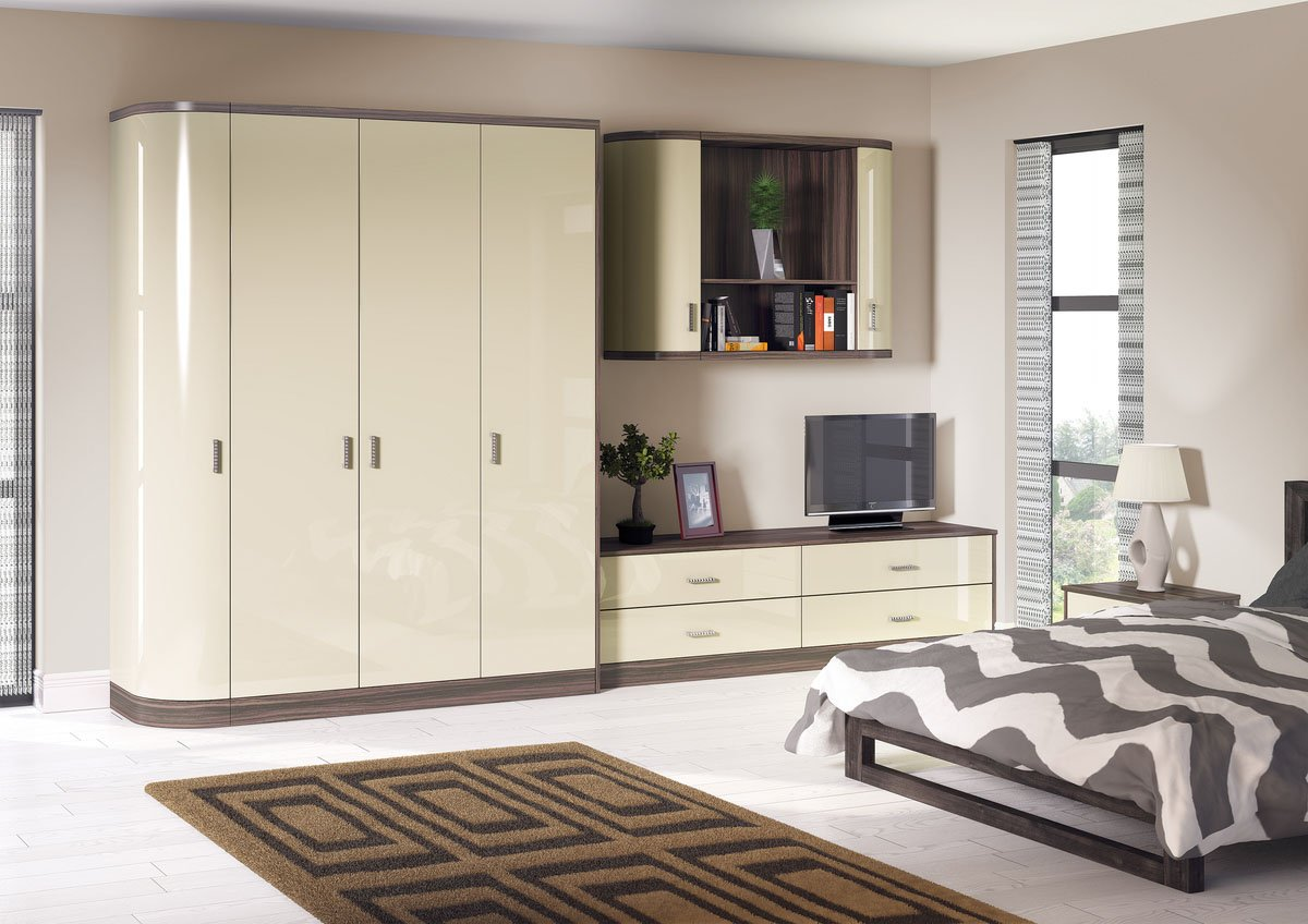 Mussel Japanese Pear Bespoke Fitted Bedrooms