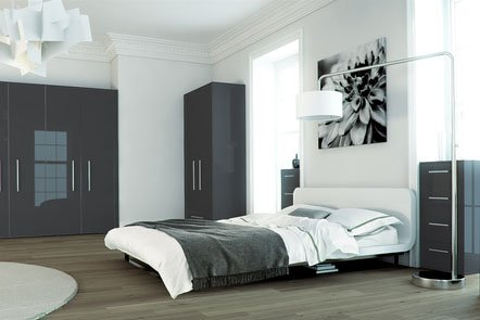 Metallic Anthracite Bespoke Fitted Bedrooms