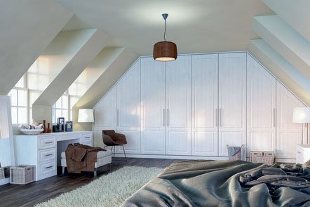 Bella Palermo Opengrain White Fitted Bedrooms