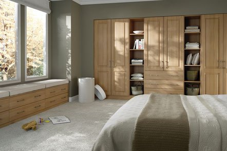 Bella Tuscany Steinberg Beech Fitted Bedrooms