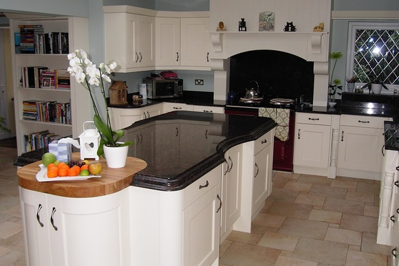 Ivory Belfell with Tan Granite