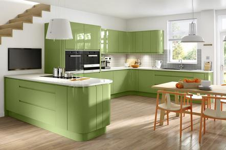 Airo  | Handleless High Gloss Kitchen | Multiple Colours
