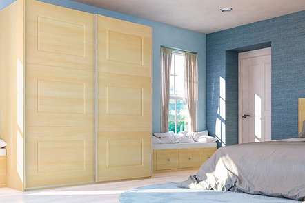 Glidor Canadian Maple Fitted Bedroom